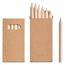 Set 6 mini matite custodia...