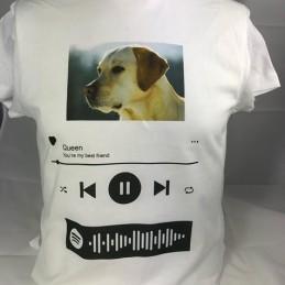 T-Shirt  Spotify Labrador