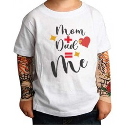 T-shirt Bimbo Mom  e Dad  Me